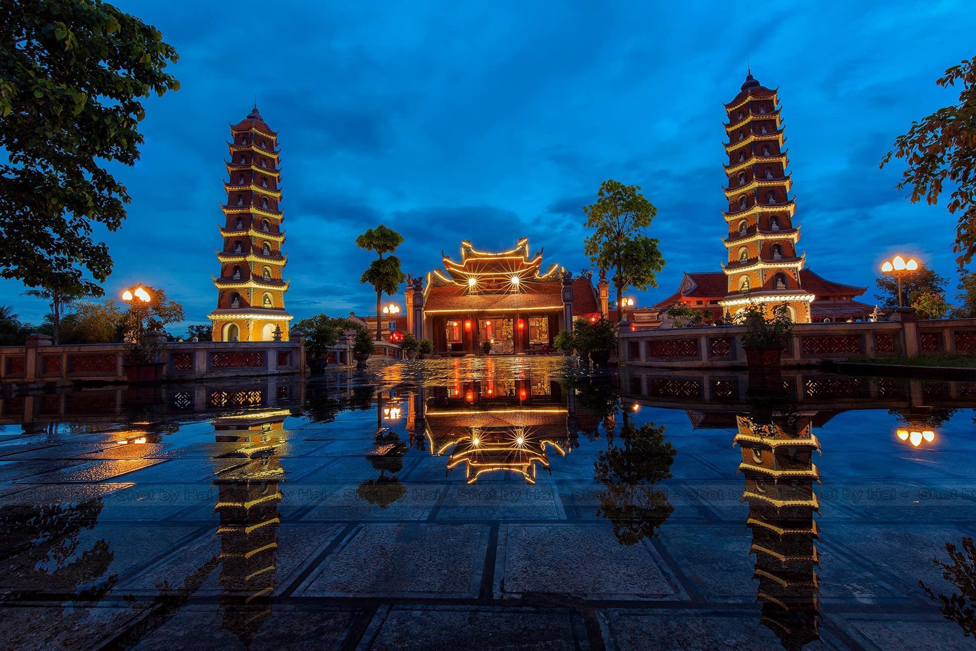 Chùa Hoằng Phúc điểm du  lịch tâm Linh Quảng Bình